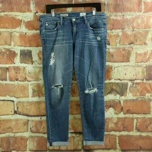 Ag Adriano Goldschmied Jeans - AG JEANS Stilt Roll Up Cigarette 16 Year Swap Meet